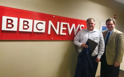 BBC World Service Russell Patmore Interviews Larry George, CEO of George Packing Company