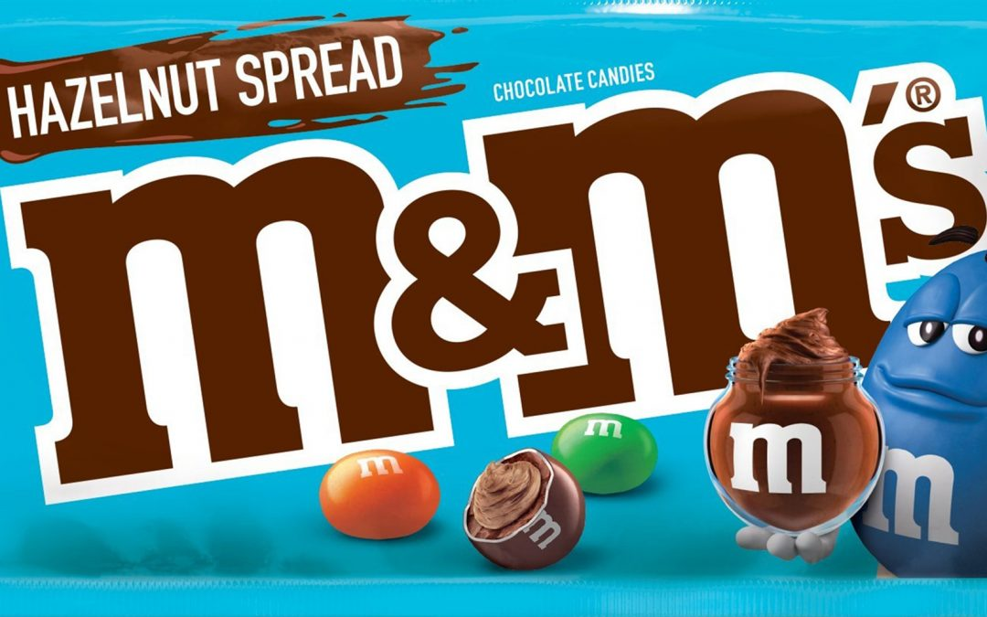 These Hazelnut Chocolate M&M's are every Nutella lover's dream come true