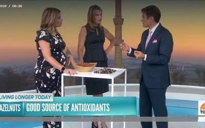 Dr. Oz Includes Hazelnuts Among 5 Foods to Eat for a Longer Life