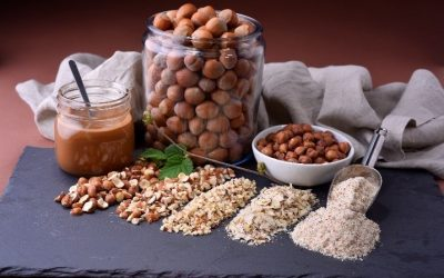 PRODUCT DEVELOPERS ANTICIPATE BROADER USE OF HAZELNUTS