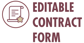 Editable Contract Form